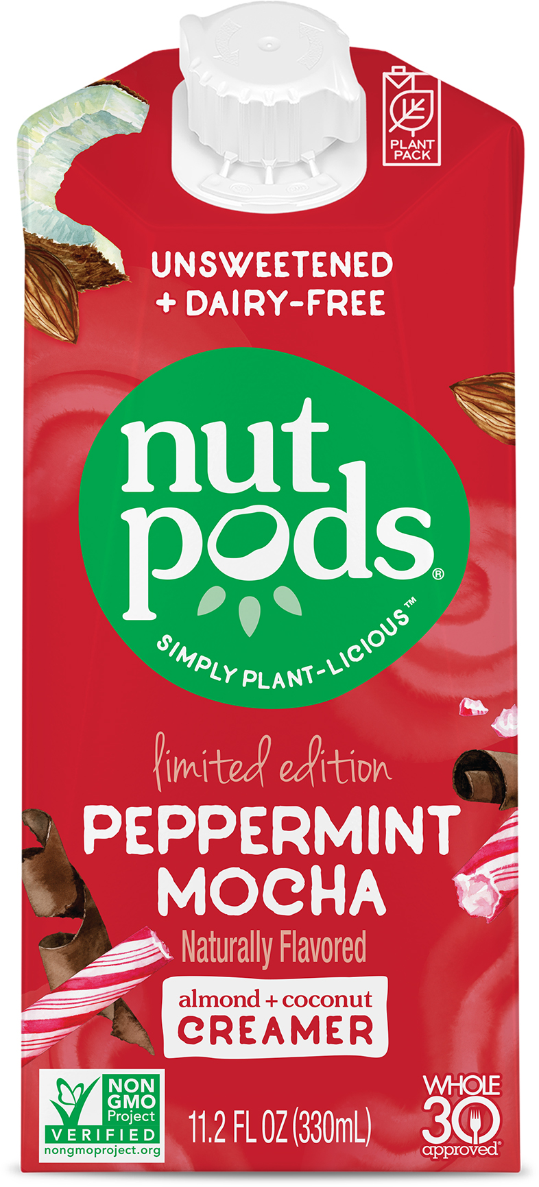 nutpods: Photo of Peppermint Mocha dairy-free creamer - nutpods (uploaded by company)
