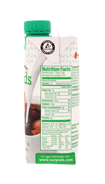 nutpods: NutPods Hazelnut Facts
