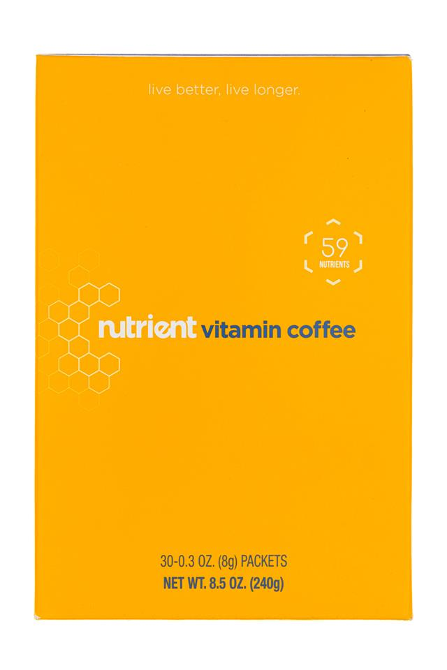 Nutrient: Nutrient-9oz-30pckt-VitaminCoffee
