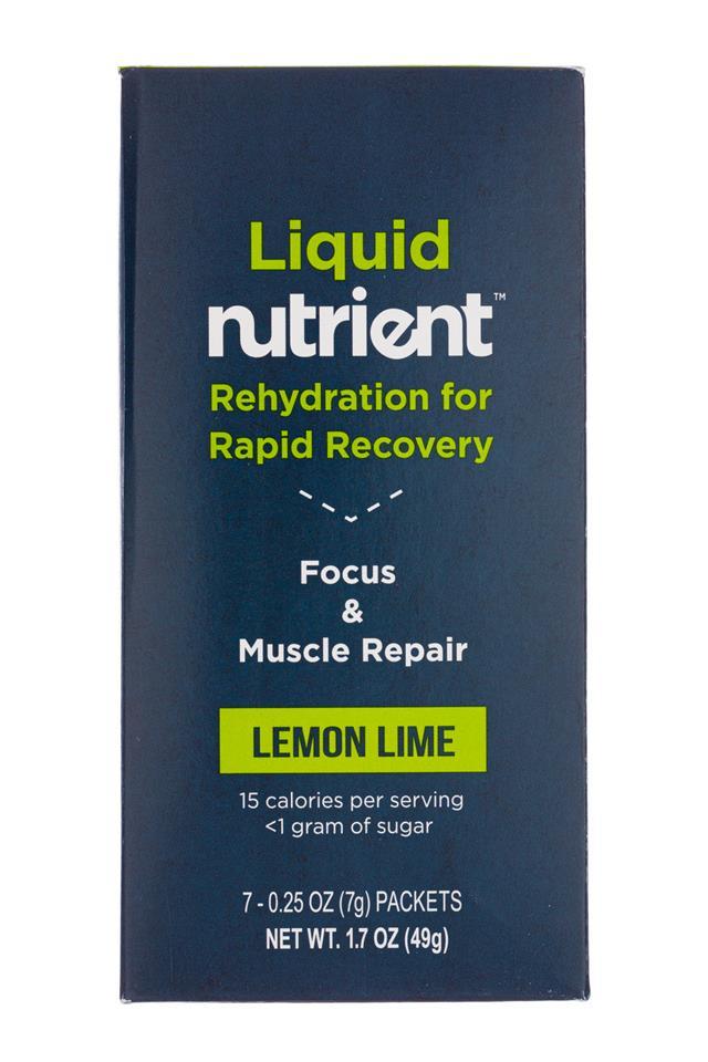 Nutrient: Nutrient-2oz-7pckt-Liquid-LemonLime