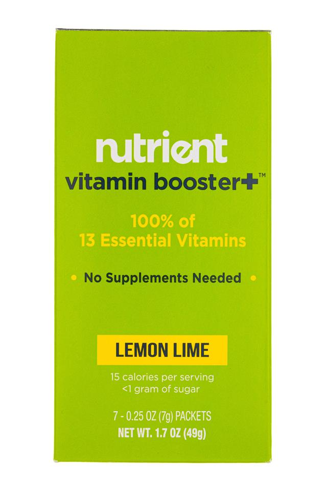 Nutrient: Nutrient-2oz-7pckt-VitBoost-LemonLime