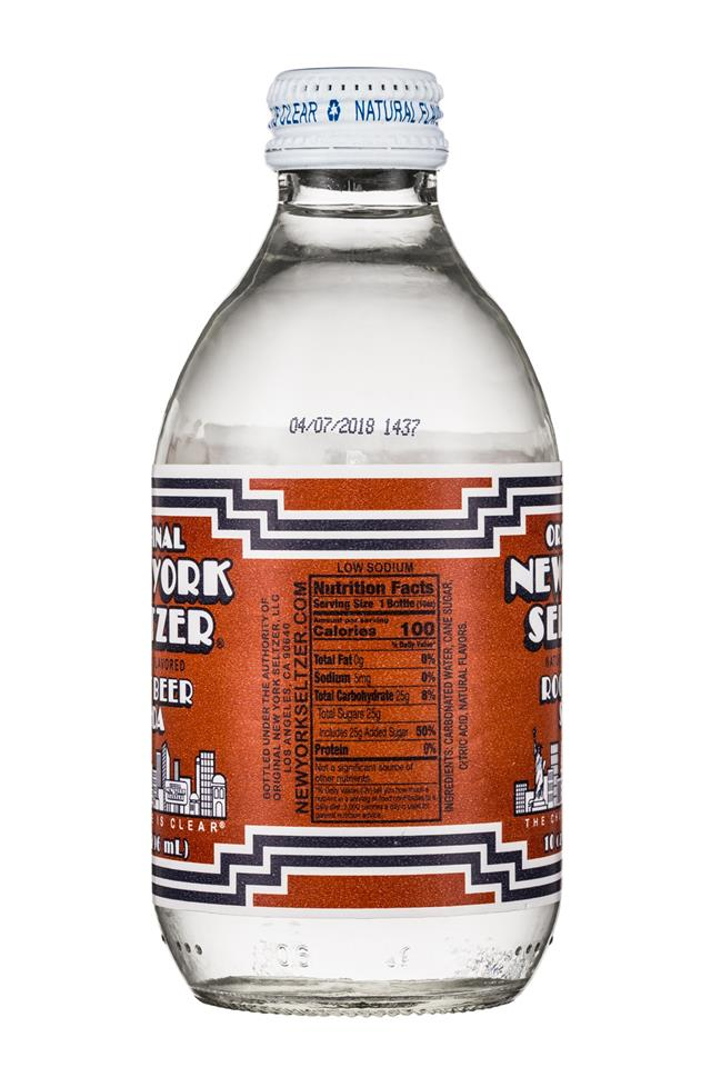 Original New York Seltzer: OriginalNYSeltzer-10oz-RootBeer-Facts