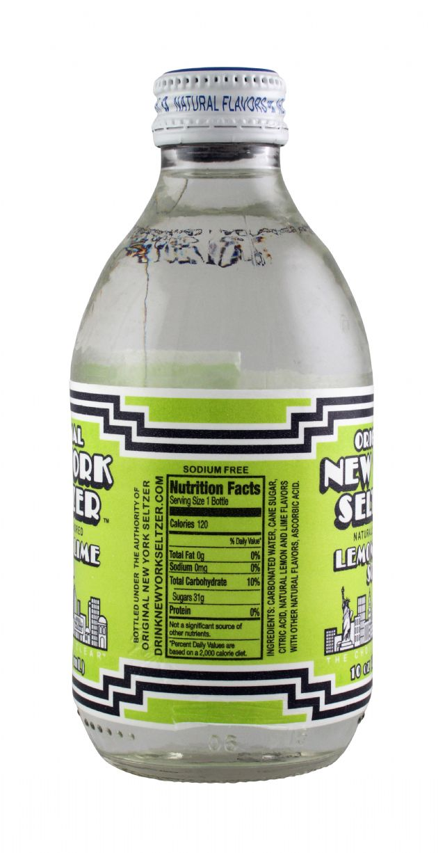 Original New York Seltzer: NYSeltzer LemLime Facts