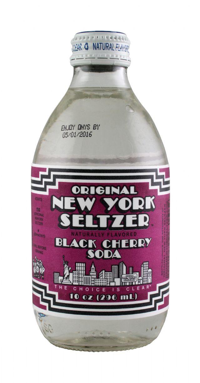 Original New York Seltzer: NYSeltzer BlackCherry Front