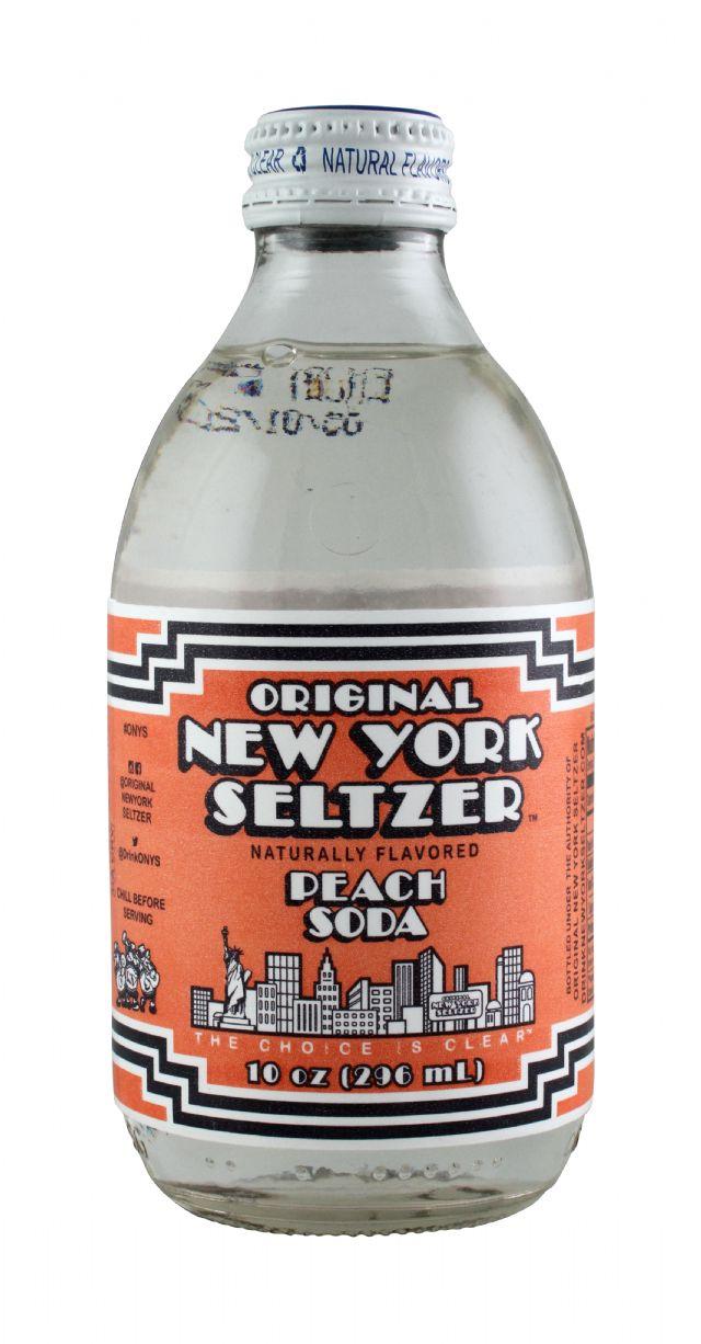 Original New York Seltzer: NYSeltzer Peach Front