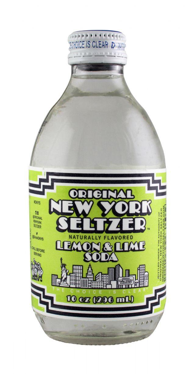 Original New York Seltzer: NYSeltzer LemLime Front