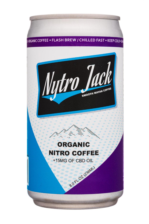 Organic Nitro Coffee + 15mg CBD Oil