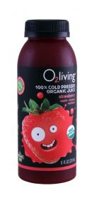 o2living Kids Juice: O2LivingSM_Straw_Front