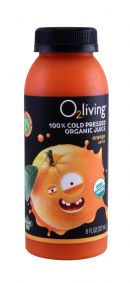 o2living Kids Juice: O2LivingSM_Orange_Front