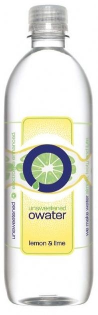 unsweetened owater: Lemon and Lime