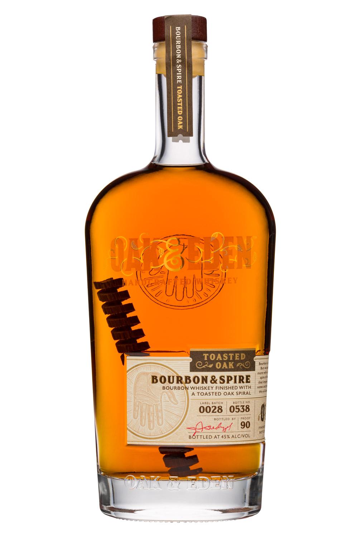 Oak & Eden: OakEden-750ml-BourbonSpike