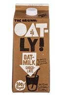 Oatly: Oatly-64oz-OatMilk-Choc-Front