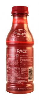 Ocean Spray PACt: OceanSpray PactPom Facts