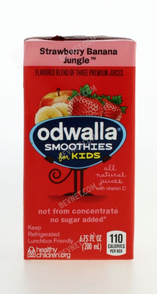 Odwalla Smoothies for Kids: