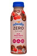 Odwalla Smoothies: Odwalla-12oz-ZeroSugarSmoothie-DarkChocoBerry-Front