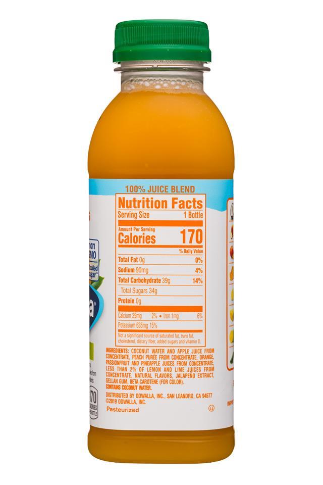 Odwalla: Odwalla-15oz-Juice-HotTropics-Facts