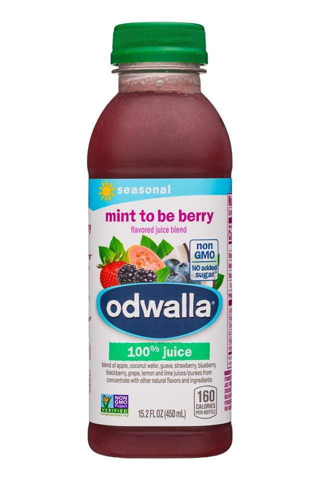 Odwalla: Odwalla-15oz-Juice-MintToBerry-Front