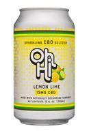 Oh Hi: OhHi-12oz-CBDSeltzer-LemonLime-Front