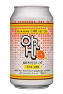 Oh Hi: OhHi-12oz-CBDSeltzer-Grapefruit-Front