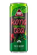 Hawaiian OLA: Kona-CoffeeLeaf-Tea-11oz-TulsiBerry-Front