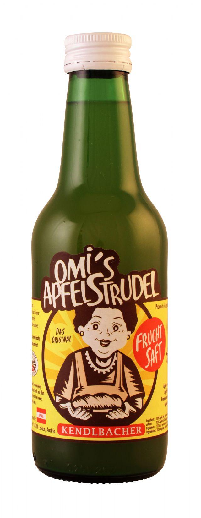 Omi's ApfelStrudel: OmisApfel Front