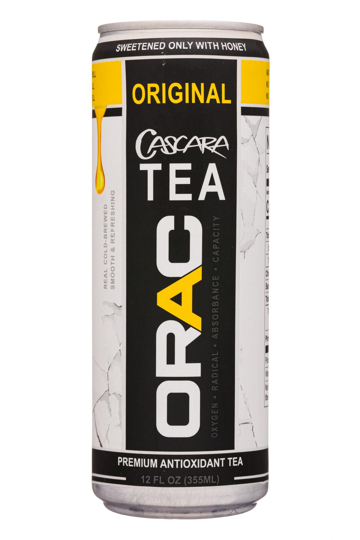 Orac: Orac-12oz-CascaraTea-Original-Front