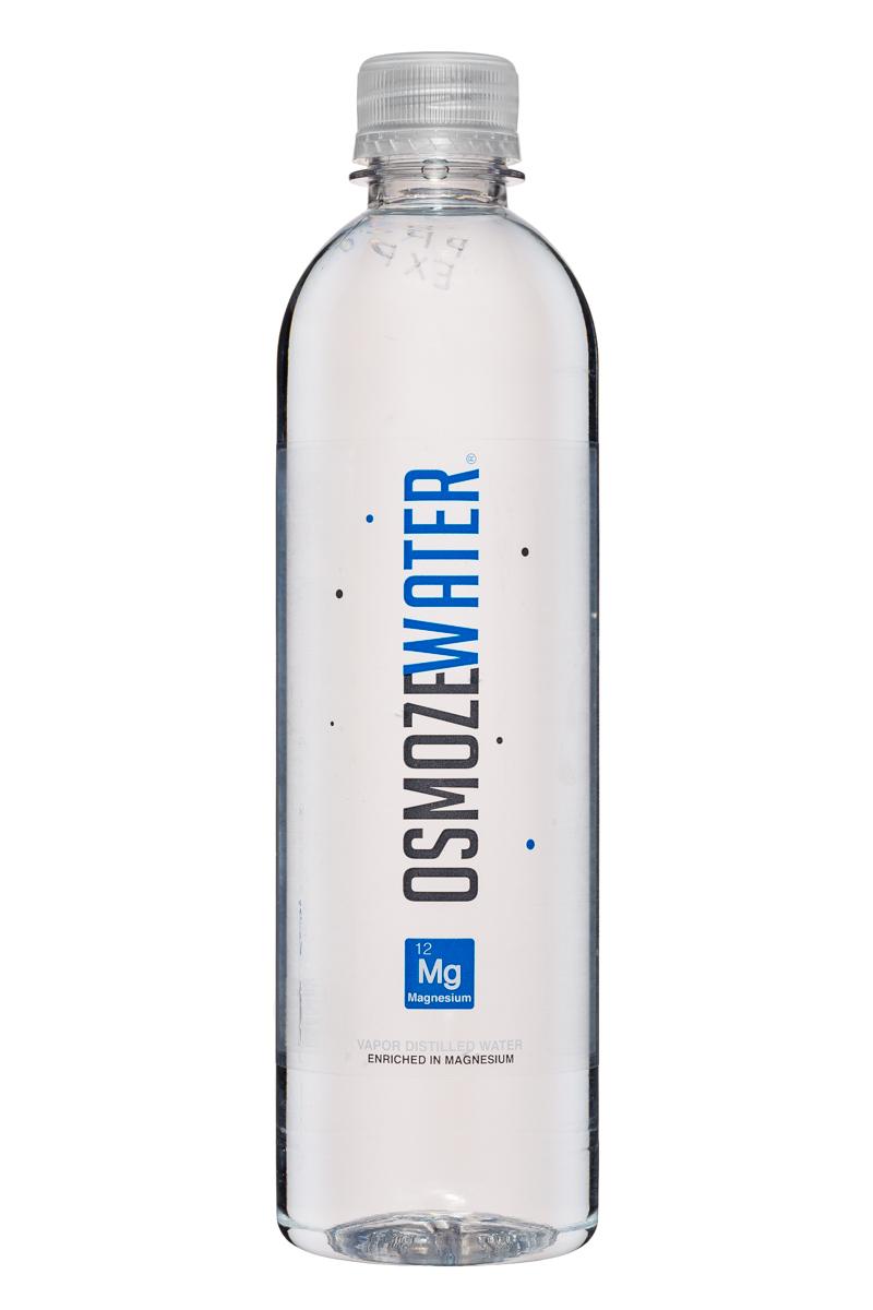 Osmoze Water: OsmozeWater-17oz-VaporDistilled-Magnesium-Front