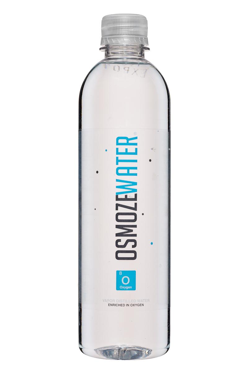 Osmoze Water: OsmozeWater-17oz-VaporDistilled-Oxygen-Front