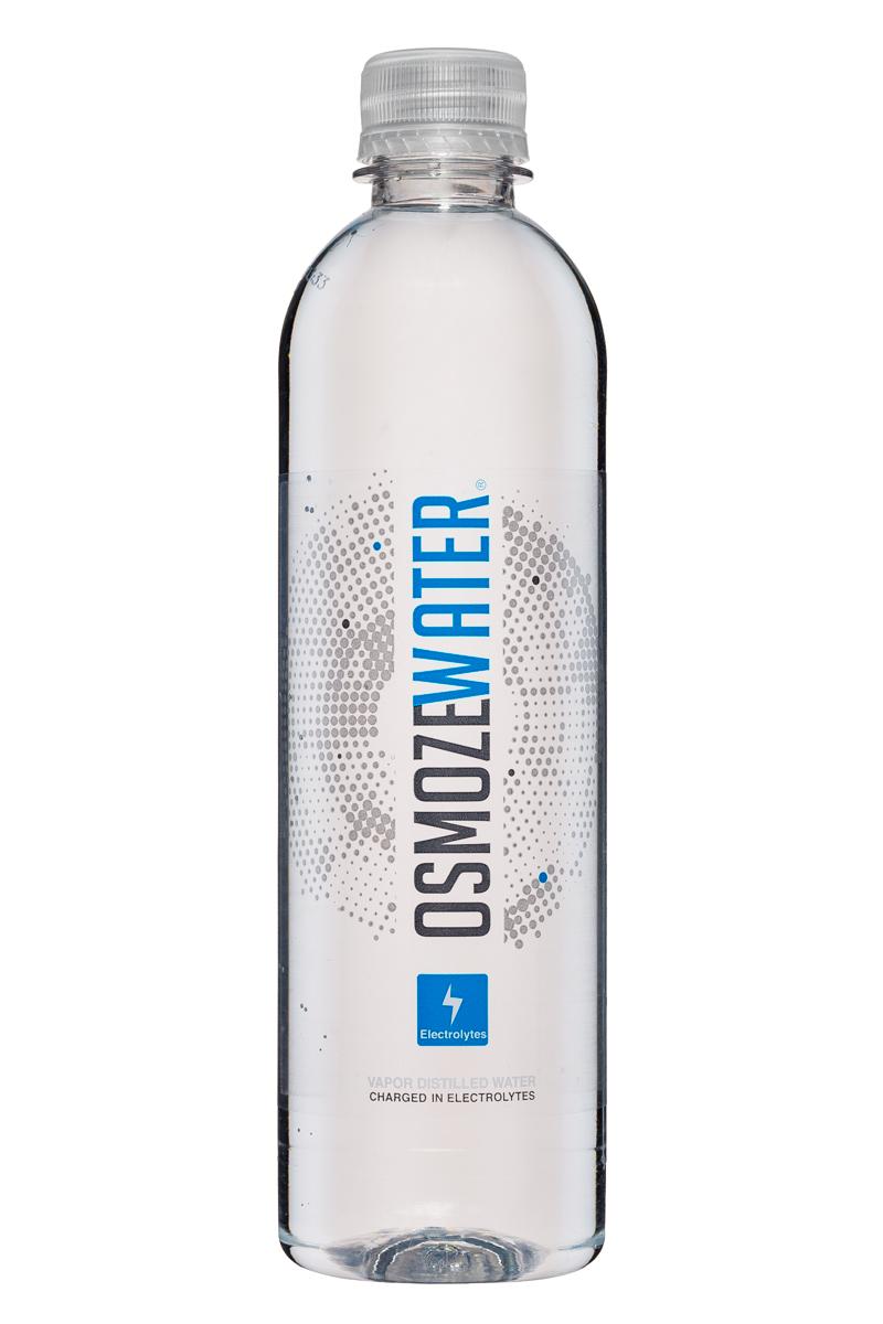 Osmoze Water: OsmozeWater-17oz-VaporDistilled-Electrolytes-Front