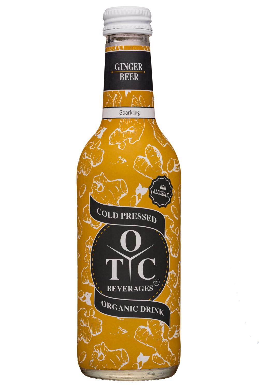 OTC Beverages: OTCBeverages-330ml-GingerBeer-Sparkling-Front