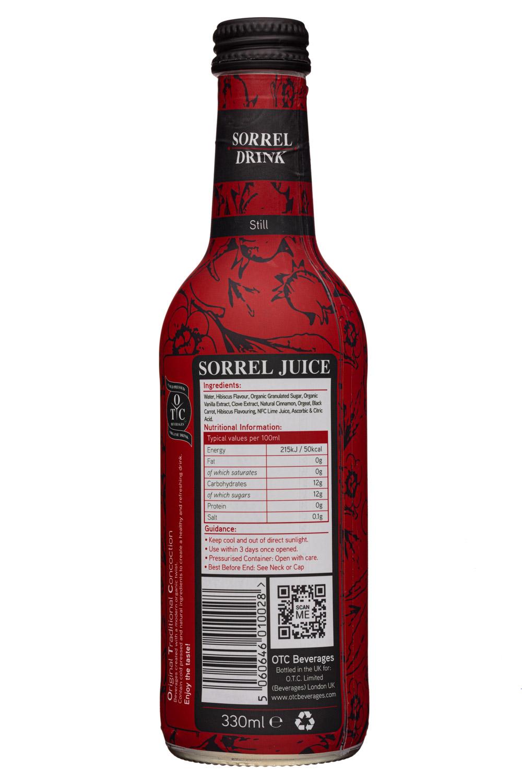 OTC Beverages: OTCBeverages-330ml-SorrelDrink-Still-Facts