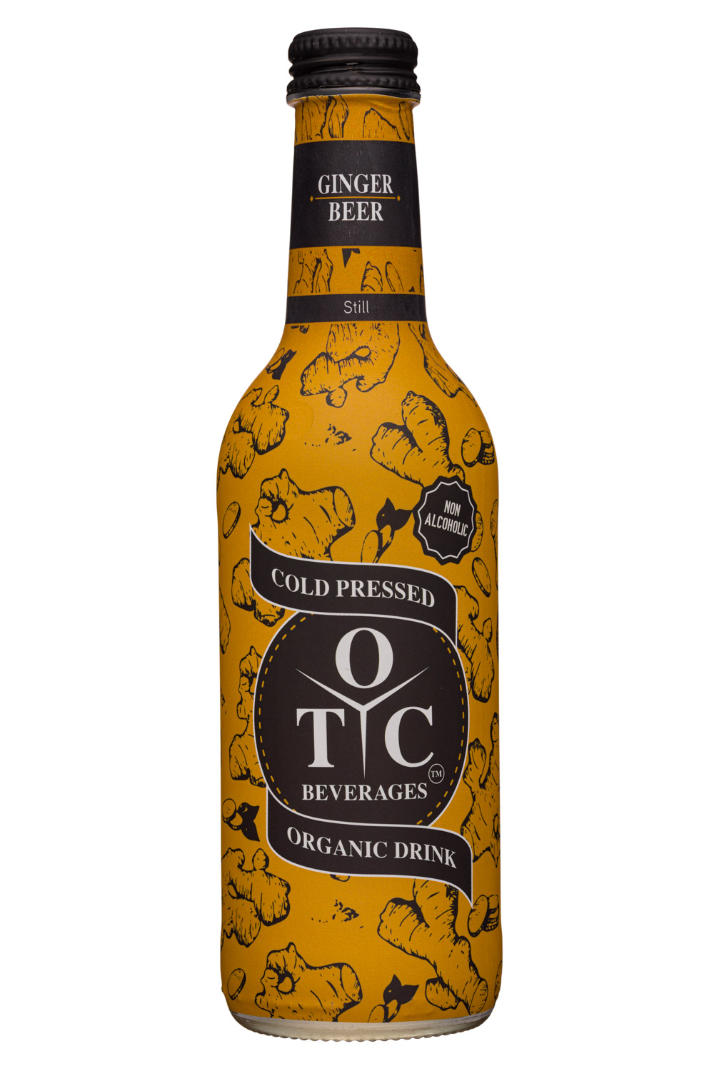 OTC Beverages: OTCBeverages-330ml-GingerBeer-Still-Front