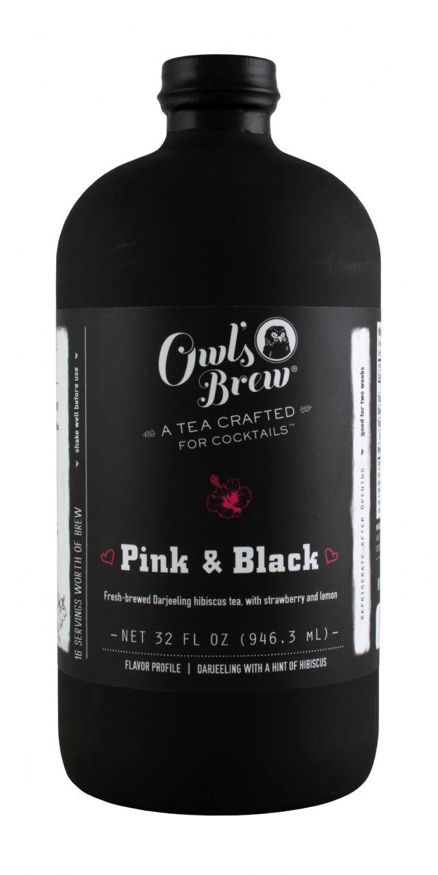 Owl's Brew: OwlsBrew PinkBlack Front