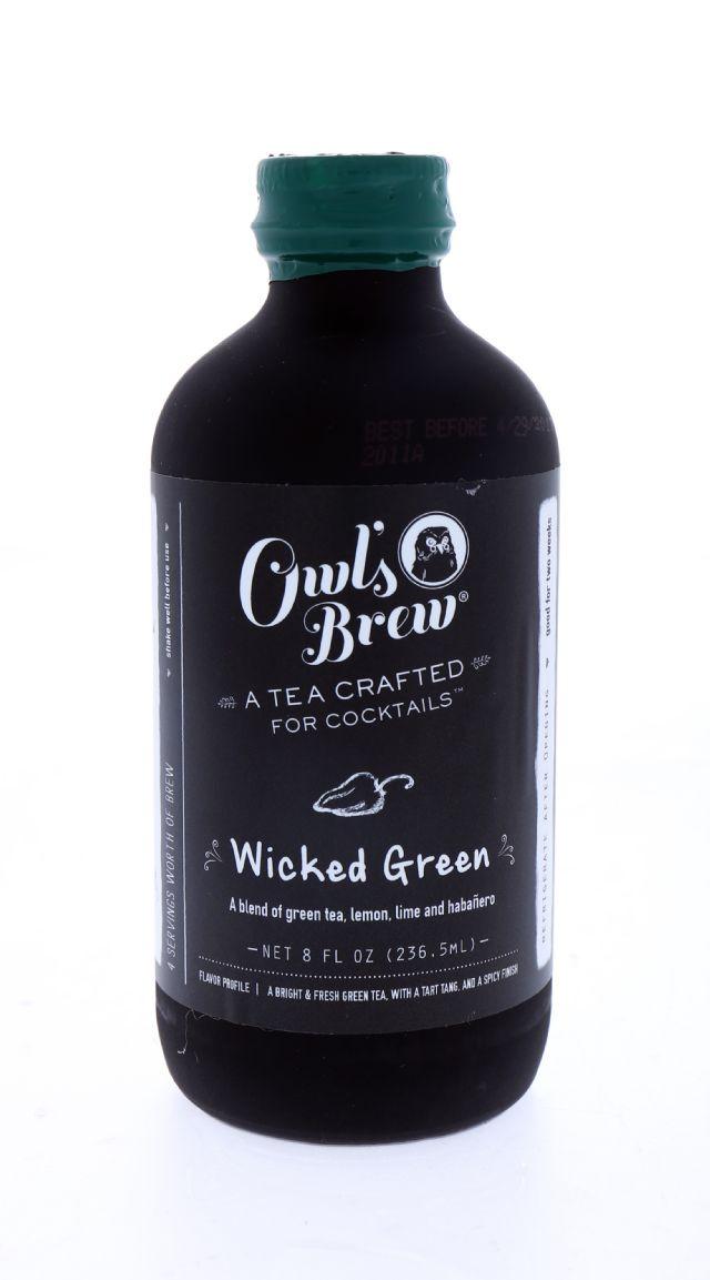 Owl's Brew: OwlsBrew WickedGreen Front