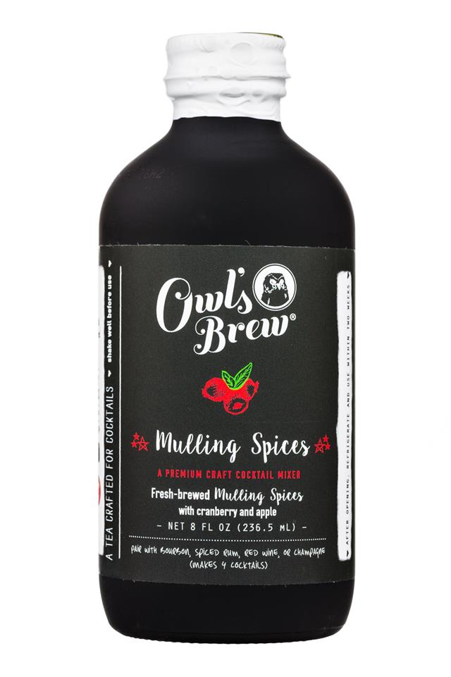 Owl's Brew: OwlsBrew-8oz-CocktailMixer-MullingSpices-Front