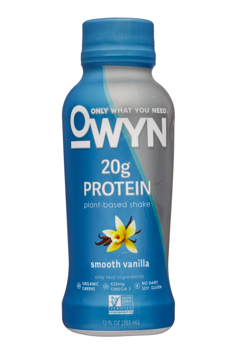 OWYN: Only What You Need: OWYN-12oz-ProteinShake-SmoothVanilla-Front