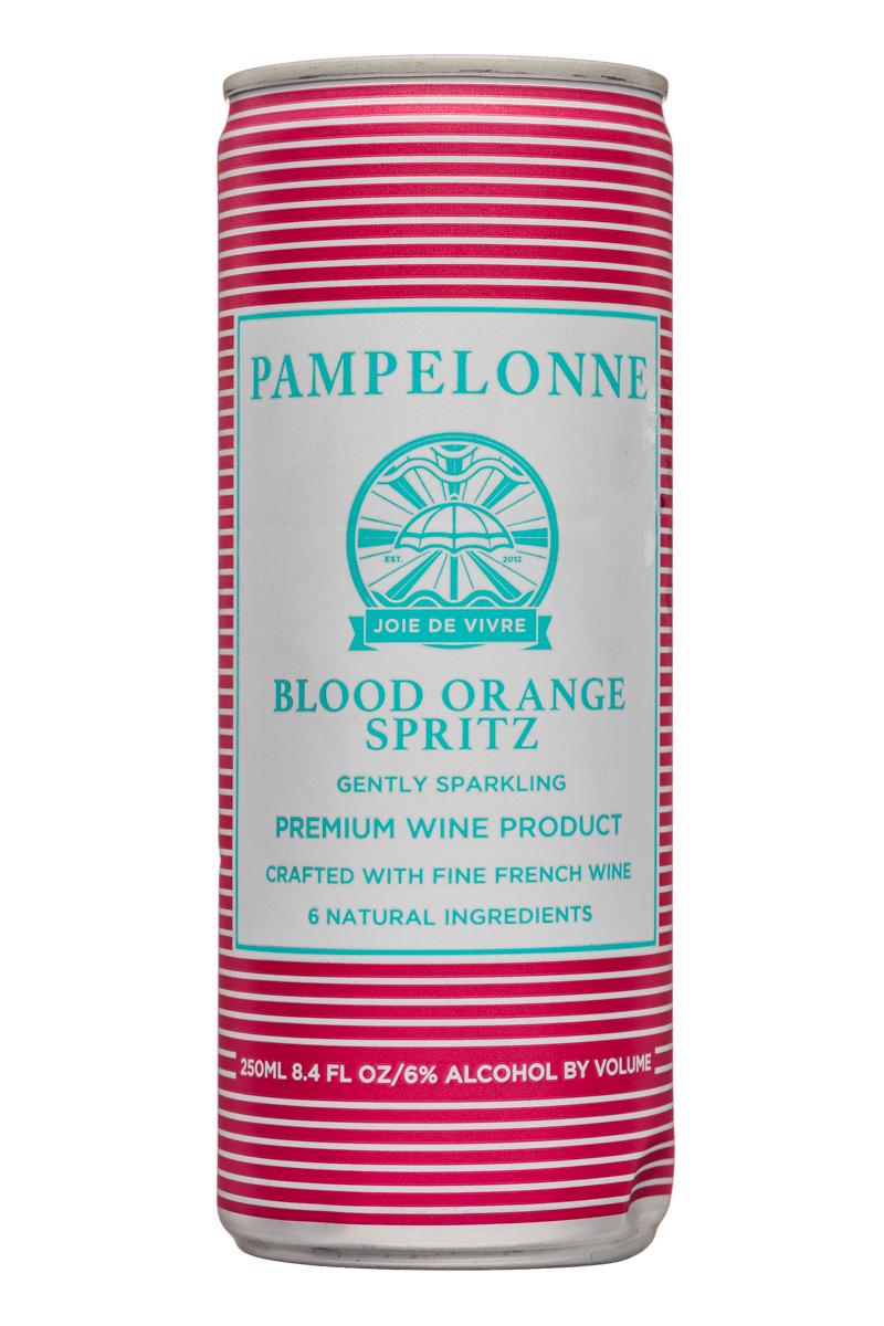 Pampelonne: Pampelonne-8oz-SparklingWine-BloodOrangeSpritz-Front