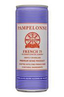 Pampelonne: Pampelonne-8oz-SparklingWine-French75-Front
