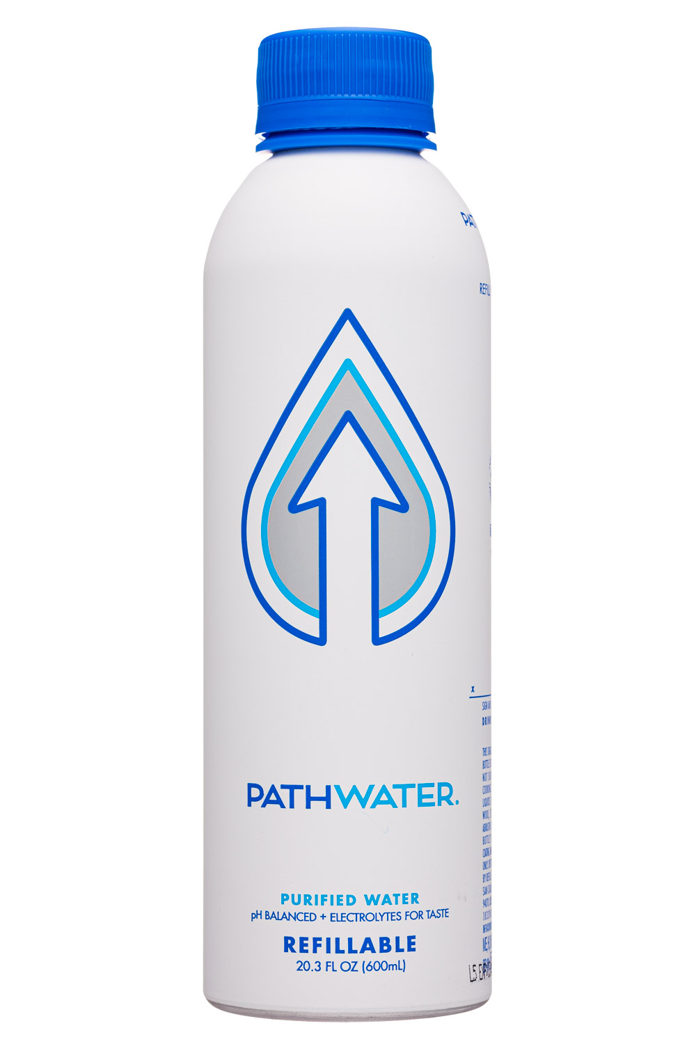 Pathwater: Pathwater-20oz-2020-Refillable-Purified-Front