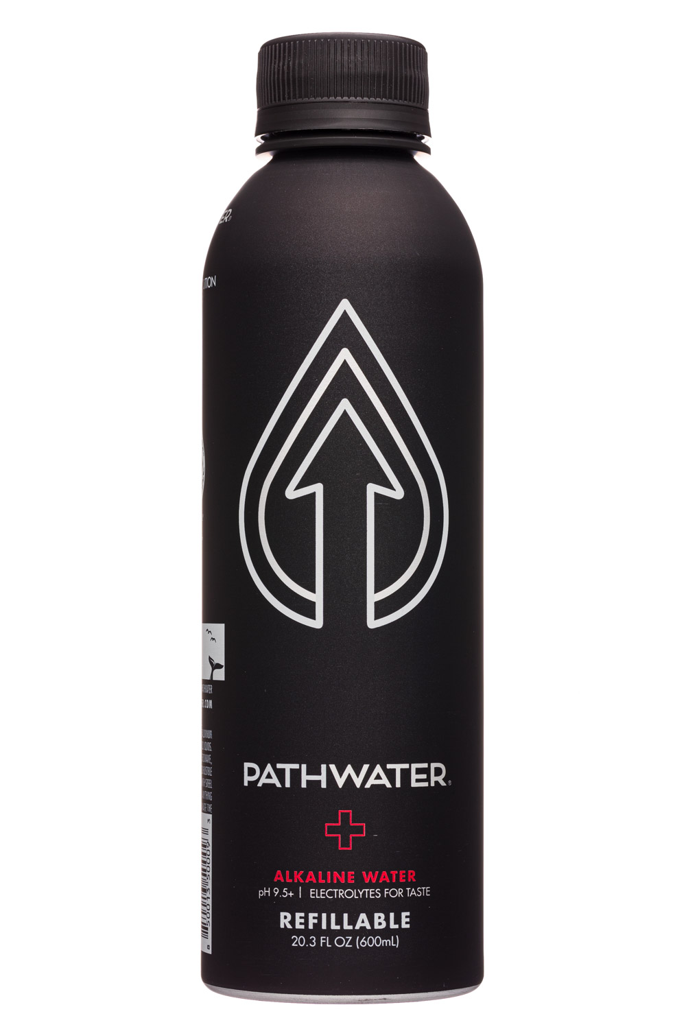 Pathwater: Pathwater-20oz-2020-Refillable-Alkaline-Front