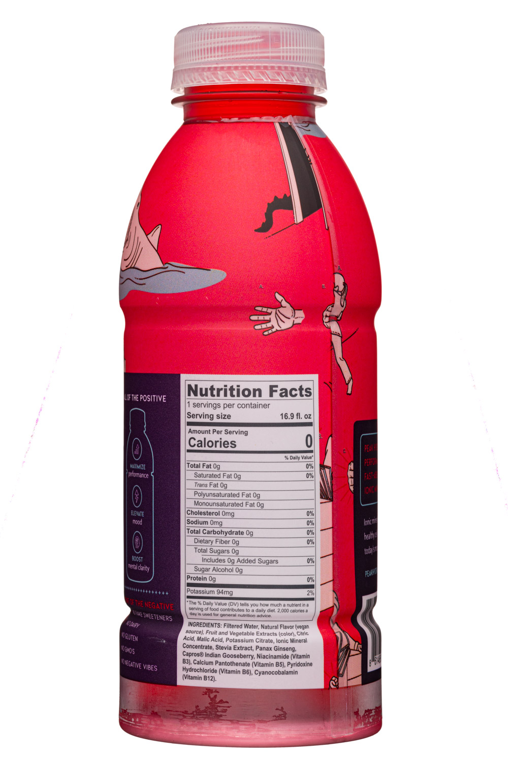 Peak Hydration: PeakHydrate-17oz-MineralWater-Punch-Facts