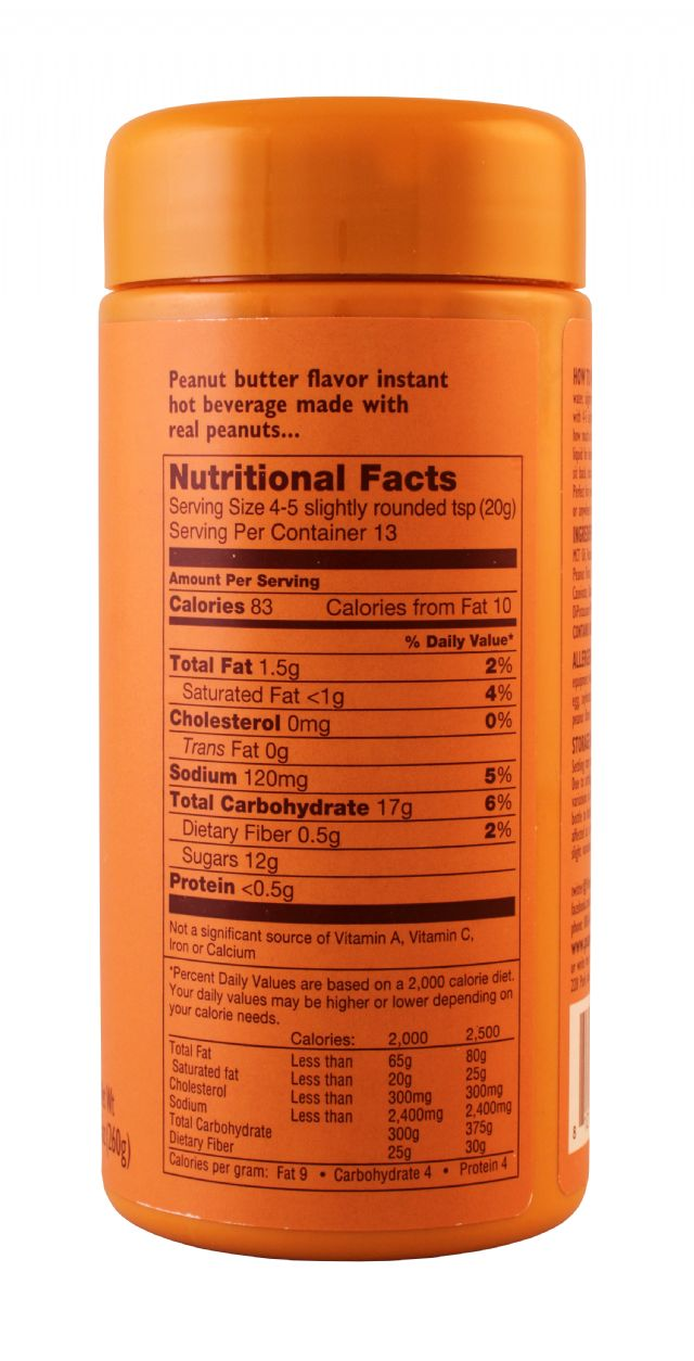 Peanut Hottie: PeanutHottie PButter Facts