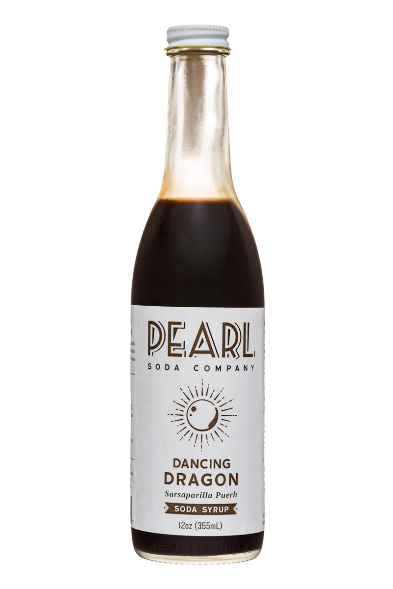 Pearl Soda Company: PearlSodaCo-12oz-DancingDragon-Front
