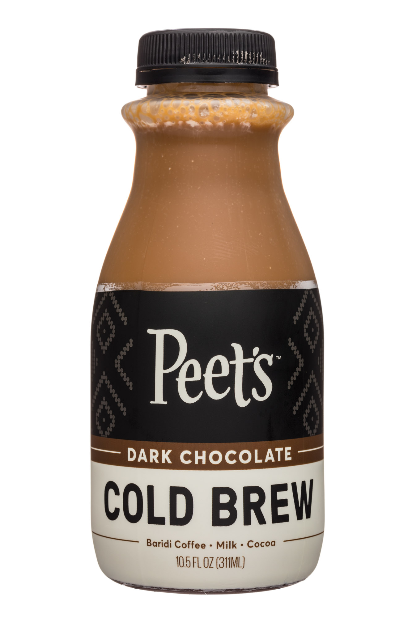 Peet's Coffee: Peets-10oz-ColdBrew2-DarkChoc-Front