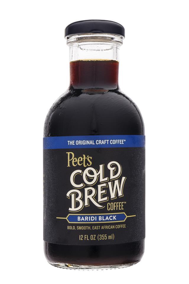Peet's Coffee: Peets-ColdBrew-Bottle-BaridiBlack-Front