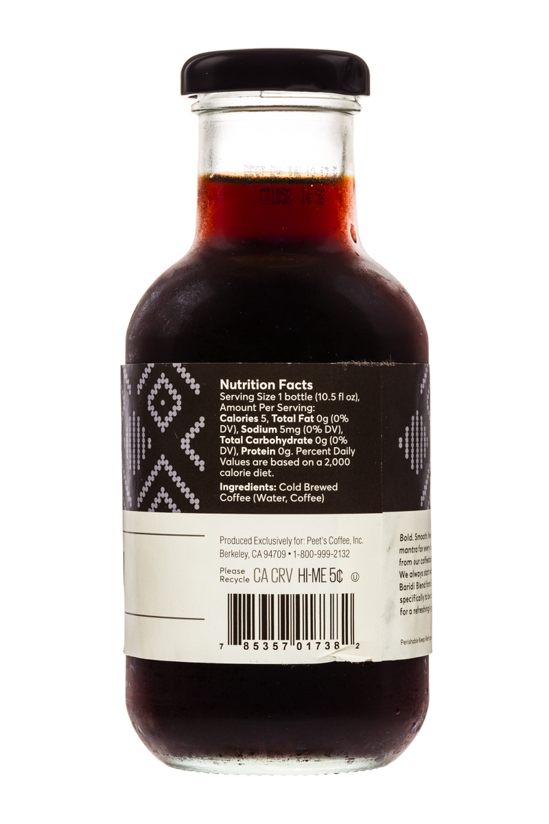 Peet's Coffee: Peets-ColdBrew-10oz-BaridiBlack-2