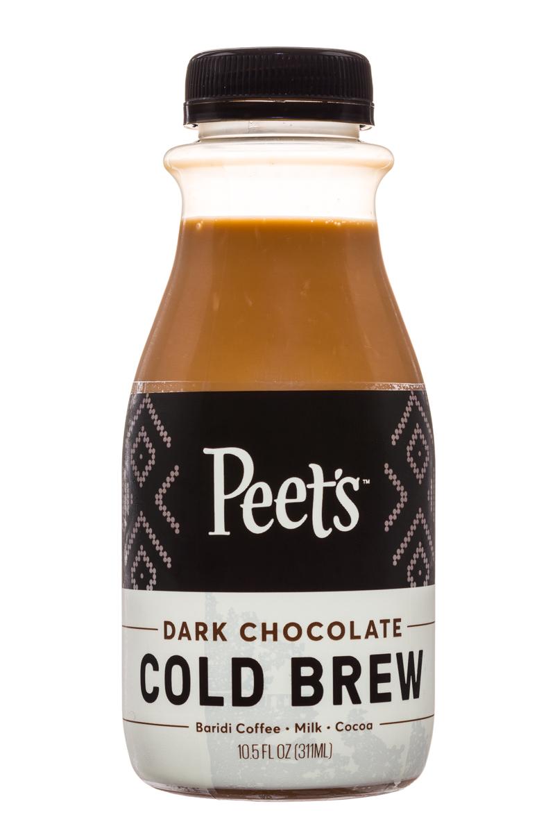 Peet's Coffee: Peets-ColdBrew-10oz-DarkChoc-Front