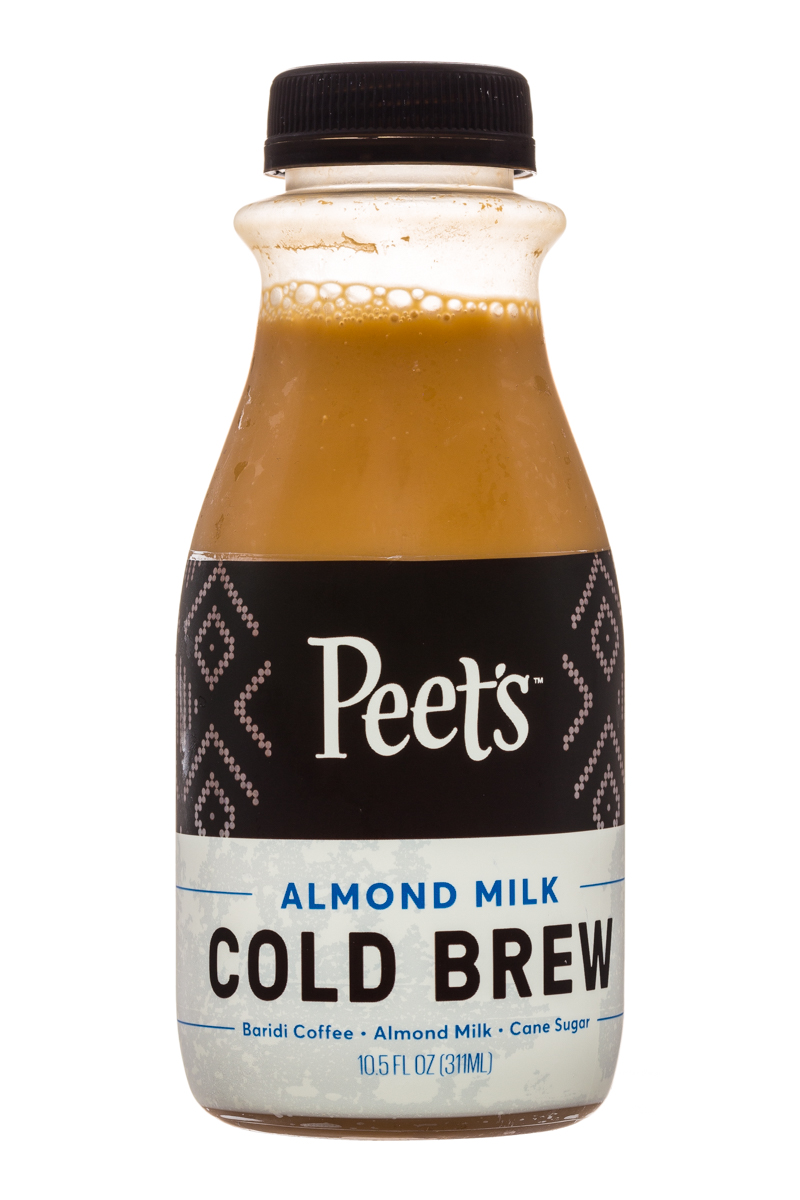 Peet's Coffee: Peets-ColdBrew-10oz-AlmondMilk-Front
