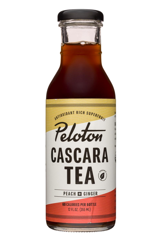 Peloton: Peloton-12oz-CascaraTea-PeachGinger-Front