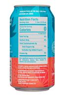 Pep Talk: PepTalk-12oz-CaffeinatedSparkling-PinkGrapefruit-Facts